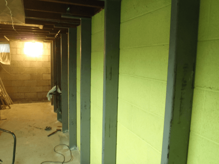 Bowed Foundation Wall Repair Milwaukee