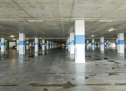 Commercial Concrete Waterproofing for Parking Garage