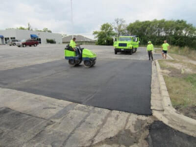 Madison commercial asphalt repair
