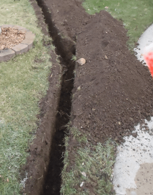 Slurry Wall Trench Excavation