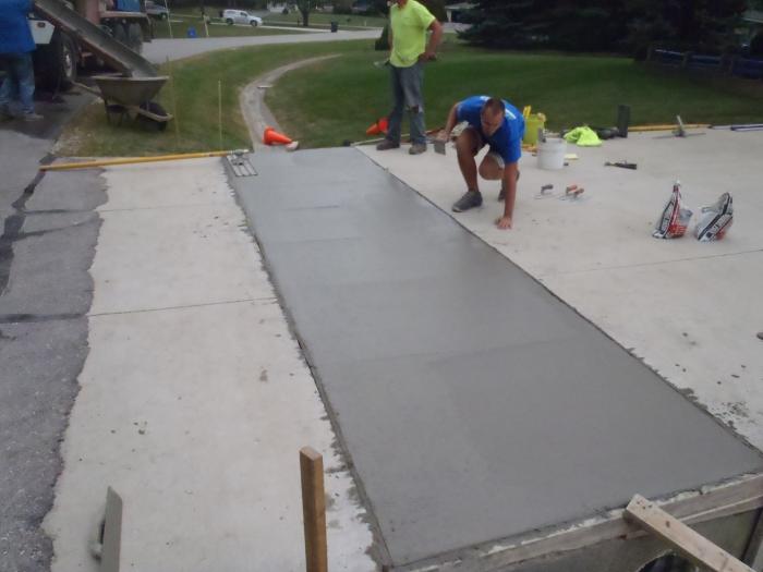Concrete Driveway Repair Services Hartland 2 Mudtech Wisconsin