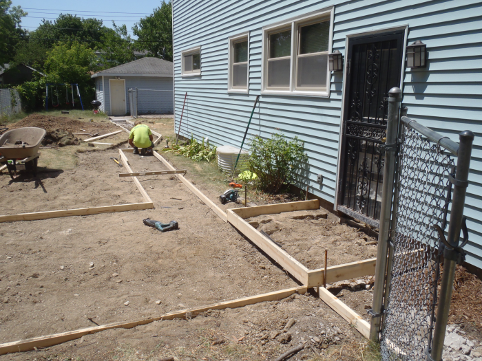 muskego patio pouring contractor 1 mudtech wisconsin concrete repair