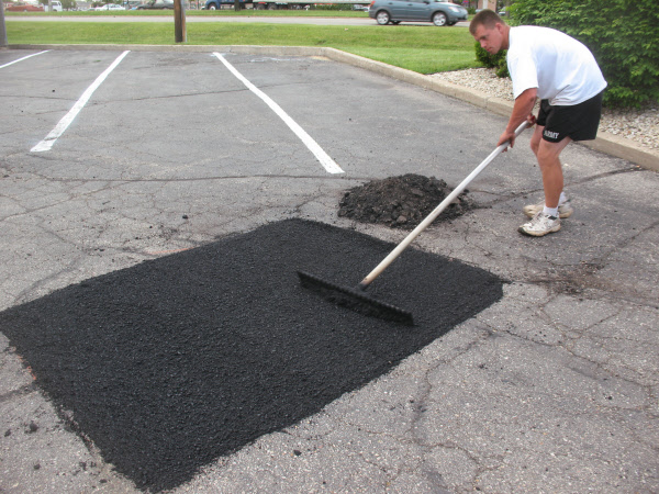 Asphalt patching and crack repair | the family handyman.
