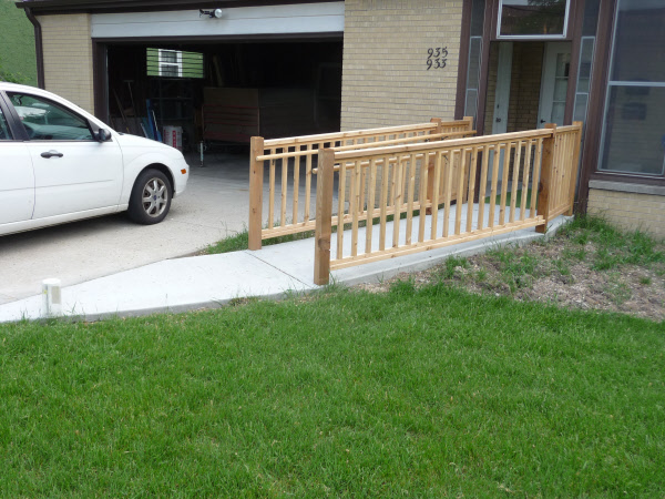 Milwaukee wheelchair ramp installation services at MUDTeCH